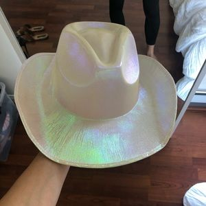 Dolls Kill Accessories - Shimmery Cowboy Costume Hat